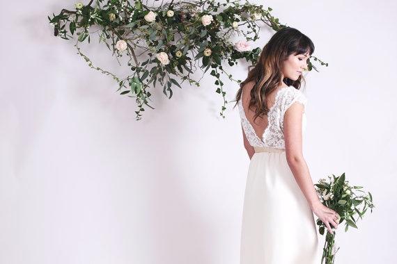 Cordelia Lace Bridal Gown