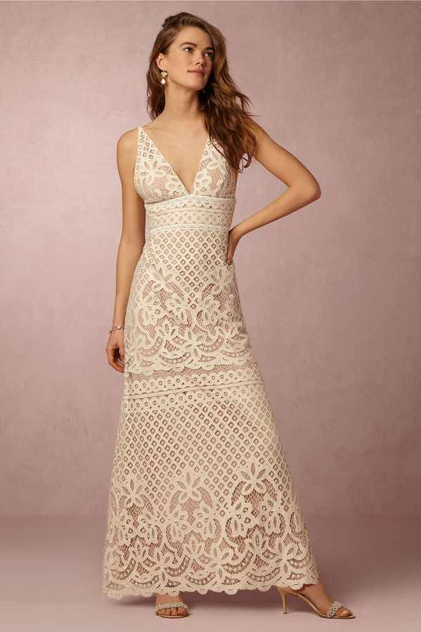 Lace Maxi Dress from BHLDN