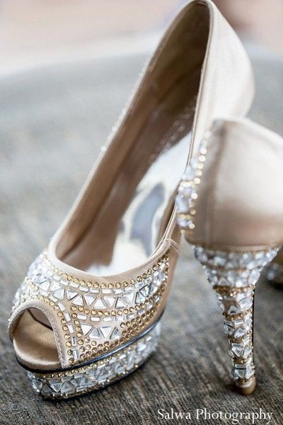 India Crystal Shoes