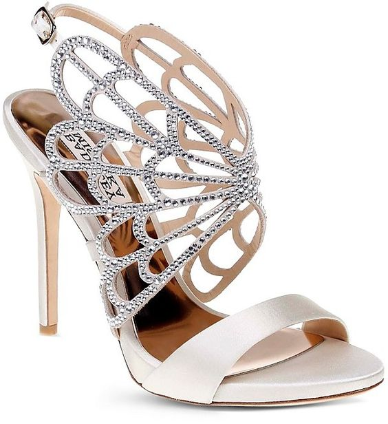 Badgley Mischka Cage High Heels