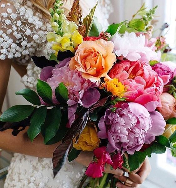 Colouful WEdding Bouquet