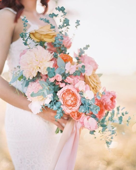 Bright and Cheerful Wedding Bouquet