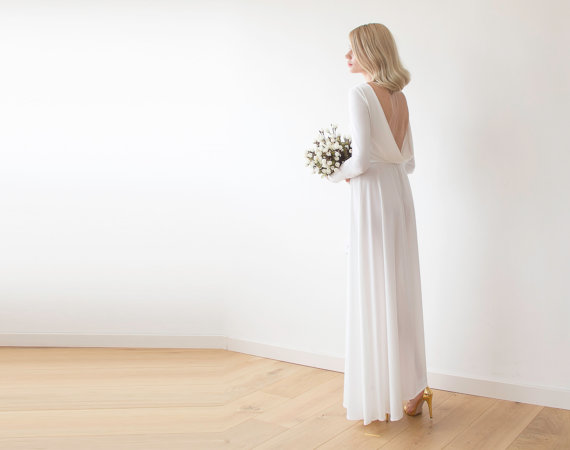 Maxi Dress with Low Back