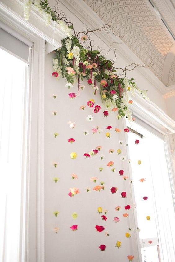 Floral Garland Hanging