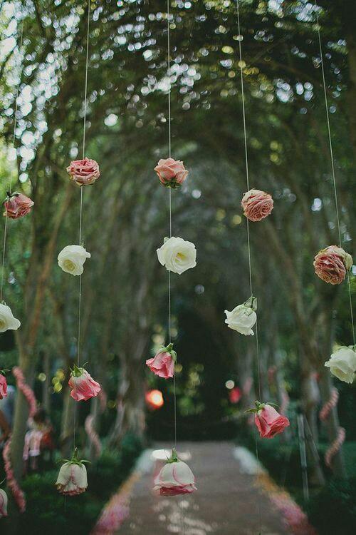 Flower Garland Hanging Backdrop