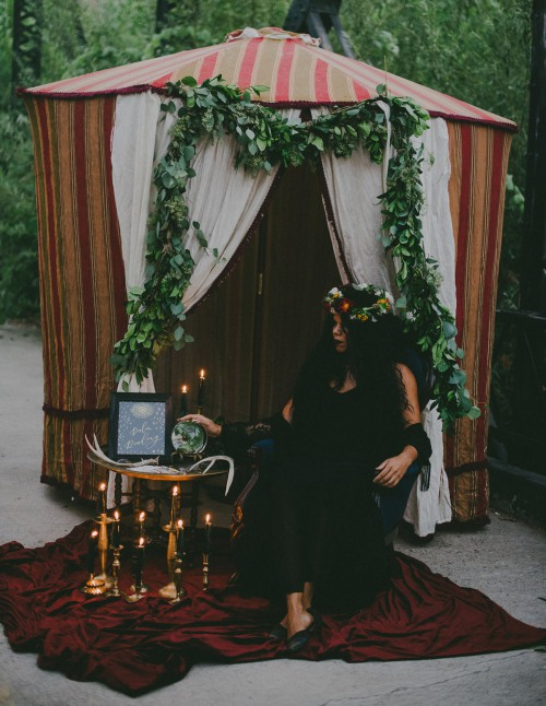 Coven Bridesmaid Shower Tent