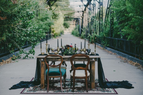 Bohemian Table Setting