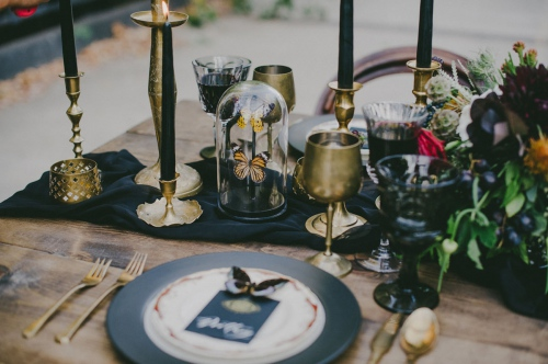 Bohemian Table Decor Details