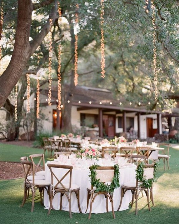 Outdoor Dining in Garden