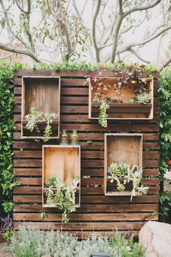 Wooden Pallet With Crates