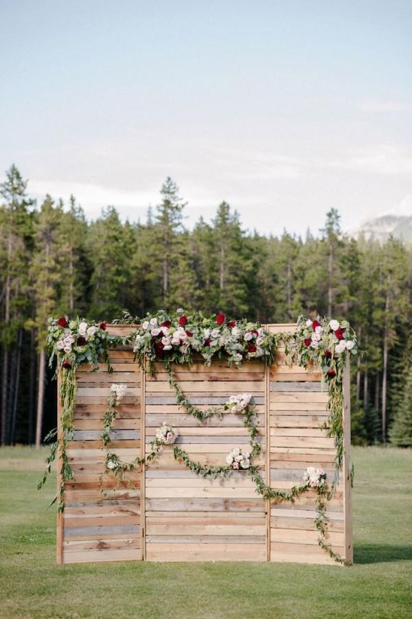 Wedding Pallet Backdrop