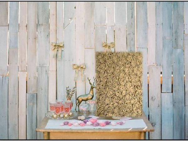 Wooden Pallet Backdrop