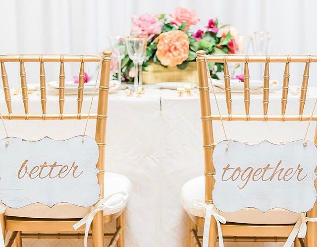 Sweetheart Table Better Together
