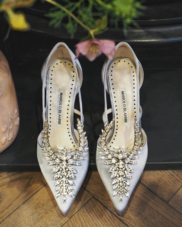 Embellished Manolo Blahnik Shoes