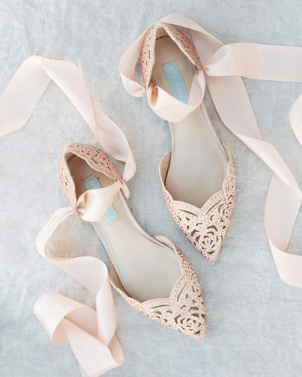 Embellished Laser Cut Shoes