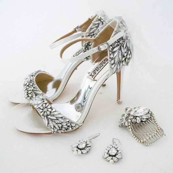 Embellished Bejeweled Shoes