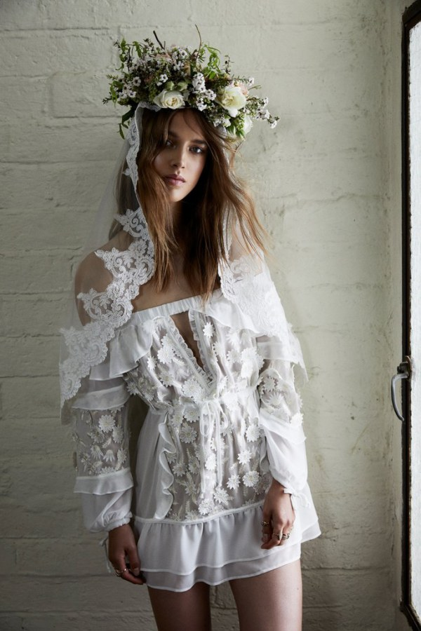 For Love and Lemons Carolina Gown