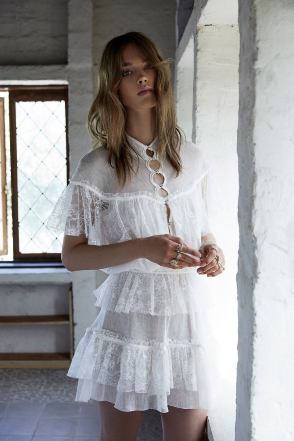 For Love and Lemons Stardust Gown