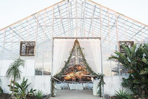 Glass Greenhouse Reception