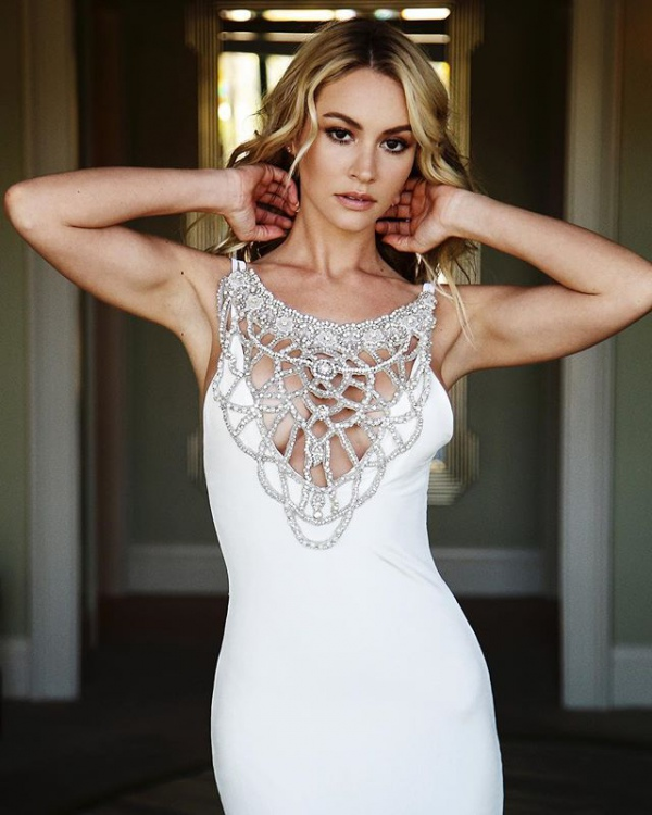 Lurelly Daisy Embellished Gown