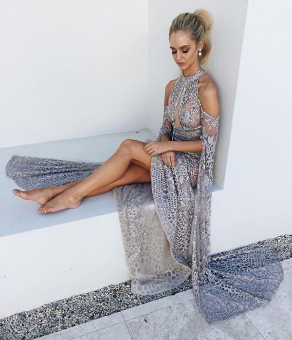 Jane Hill Bridal Wynter Embellished Dress