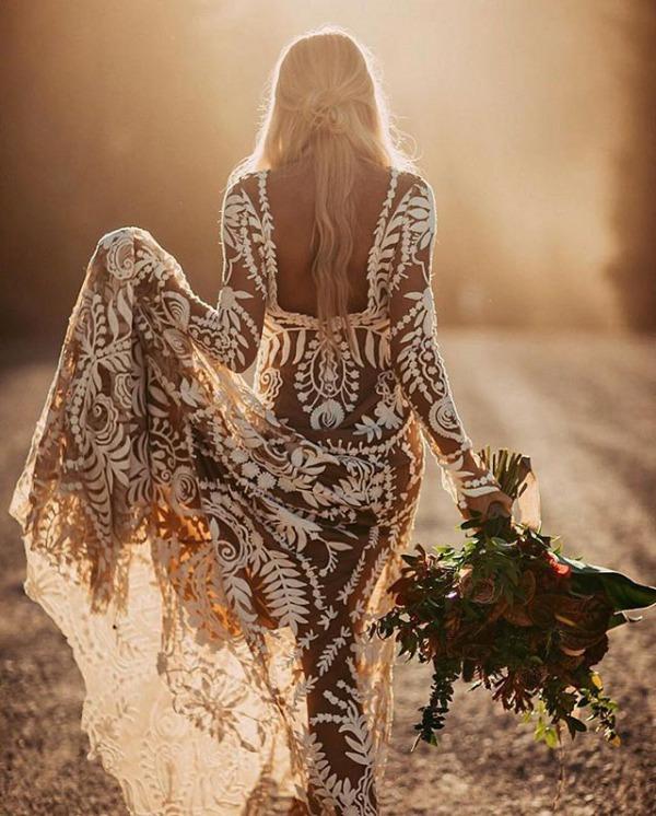 Rue De Seine Avril Embellished Gown
