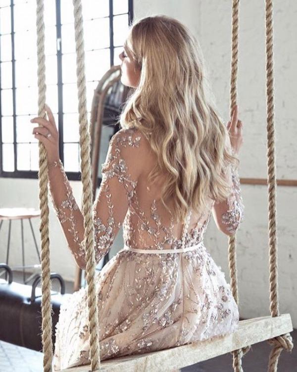 Lee Petra Grebenau Embellished Dress Details