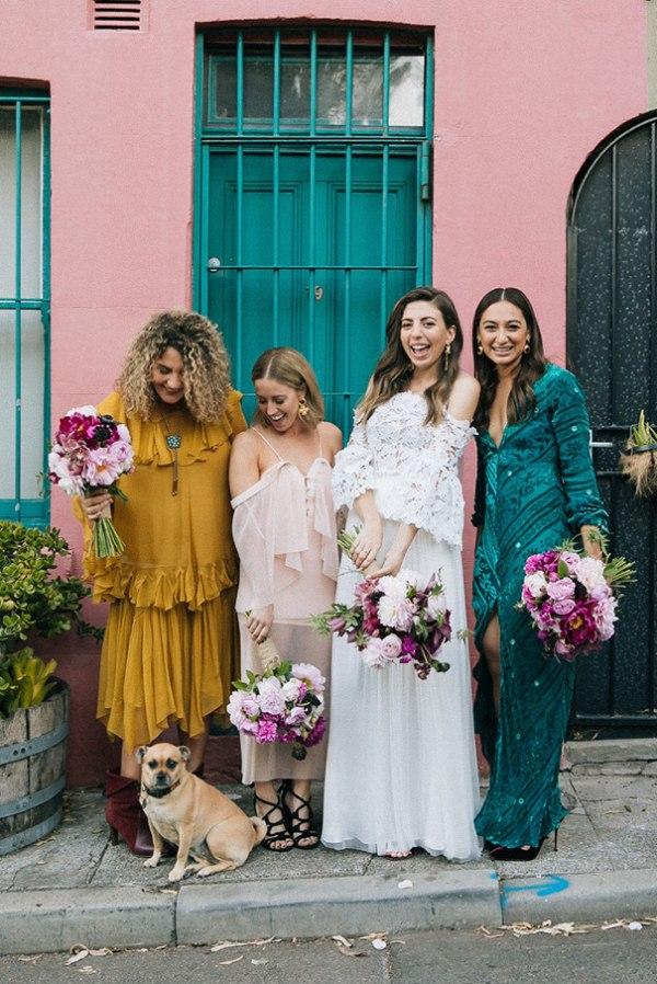 Bridesmaid Dresses in Jewel Tones