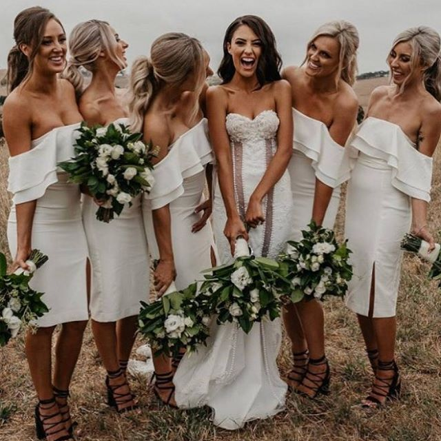 Are you searching for that perfect bridesmaid dress? We've chosen our top 5 styles on our blog that are simply beautiful! Let us know which one you adore! Inspiration via @danielmilligan . . . . #bohowedding #wedding #bridesmaids #bridesmaiddress #bridal #weddinginspiration  #thebohemianwedding