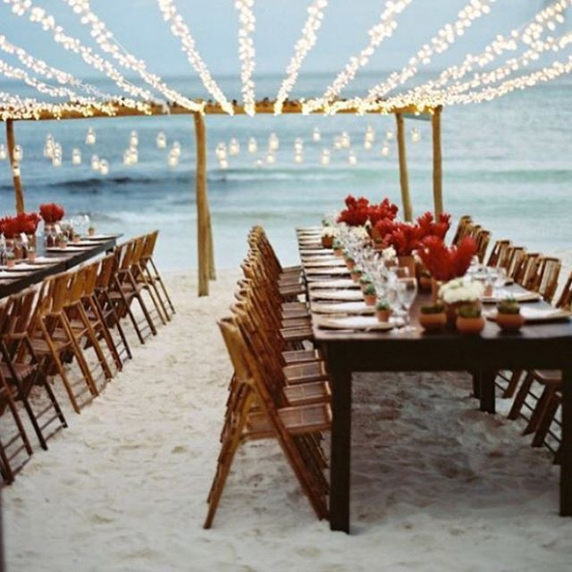 How incredible are these beach wedding reception ideas? Our latest blog features some stunning ideas perfect for any boho beach bride! 🐚🐚🐚 Link in profile! Inspiration via @tecpetaja . . . #bohowedding #wedding #weddinginspiration #weddingstyle #weddingreception #beachwedding #weddiginspo #weddingdecor