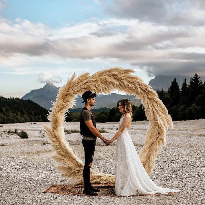 Circle Arbour Wedding Backdrop