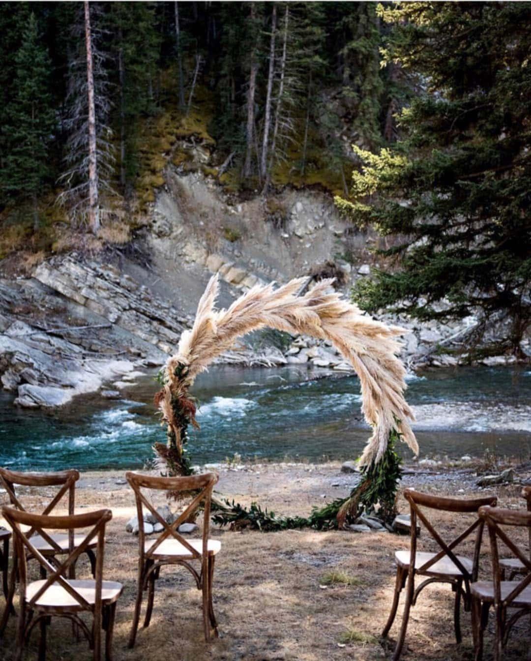 Wedding Circle Arbour Backdrop