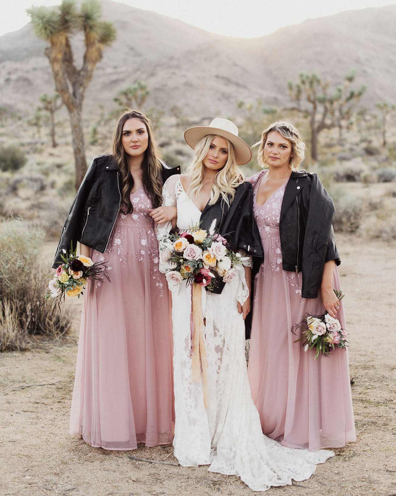 Spring Bridesmaid Dresses in Lilac