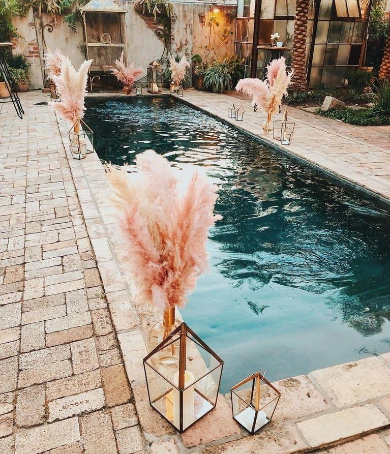 Wedding Reception Pool Venue
