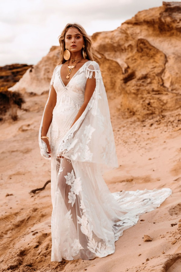 Aegean Off White Bridal Gown