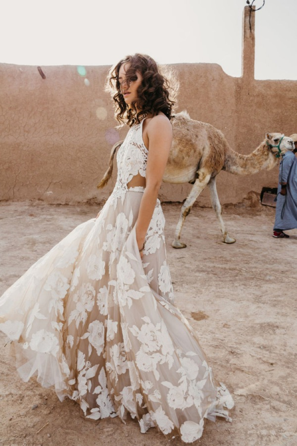 Ami Off White Bridal Gown