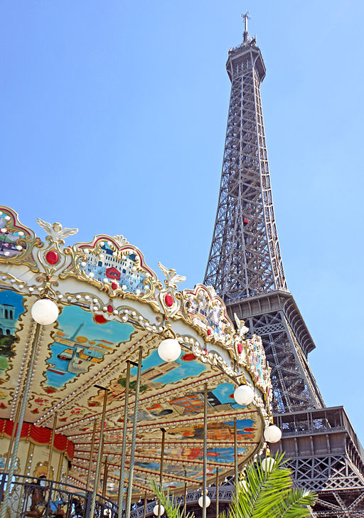 Photo Source: By Dennis Jarvis from Halifax, Canada (France-000159 - Carousel & Tower) [CC BY-SA 2.0 (http://creativecommons.org/licenses/by-sa/2.0)], via Wikimedia Commons