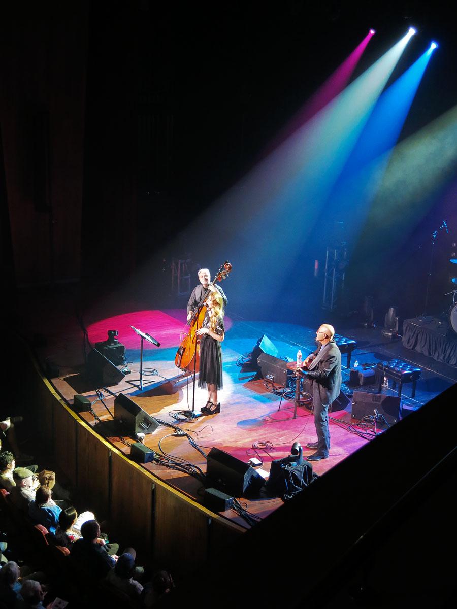 At the San Luis Obispo Performing Arts Center