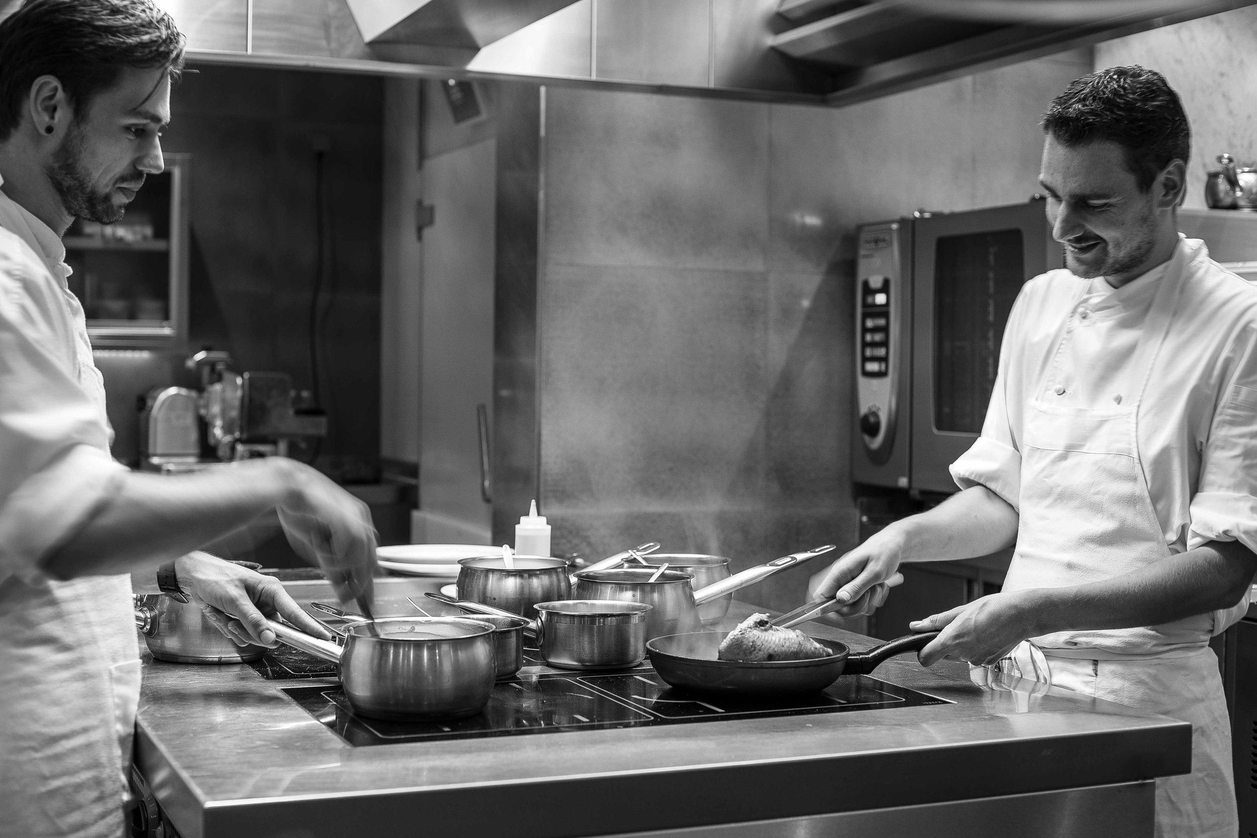 Danny Louwersheimer & Ronald van Roon | Restaurant Calla's