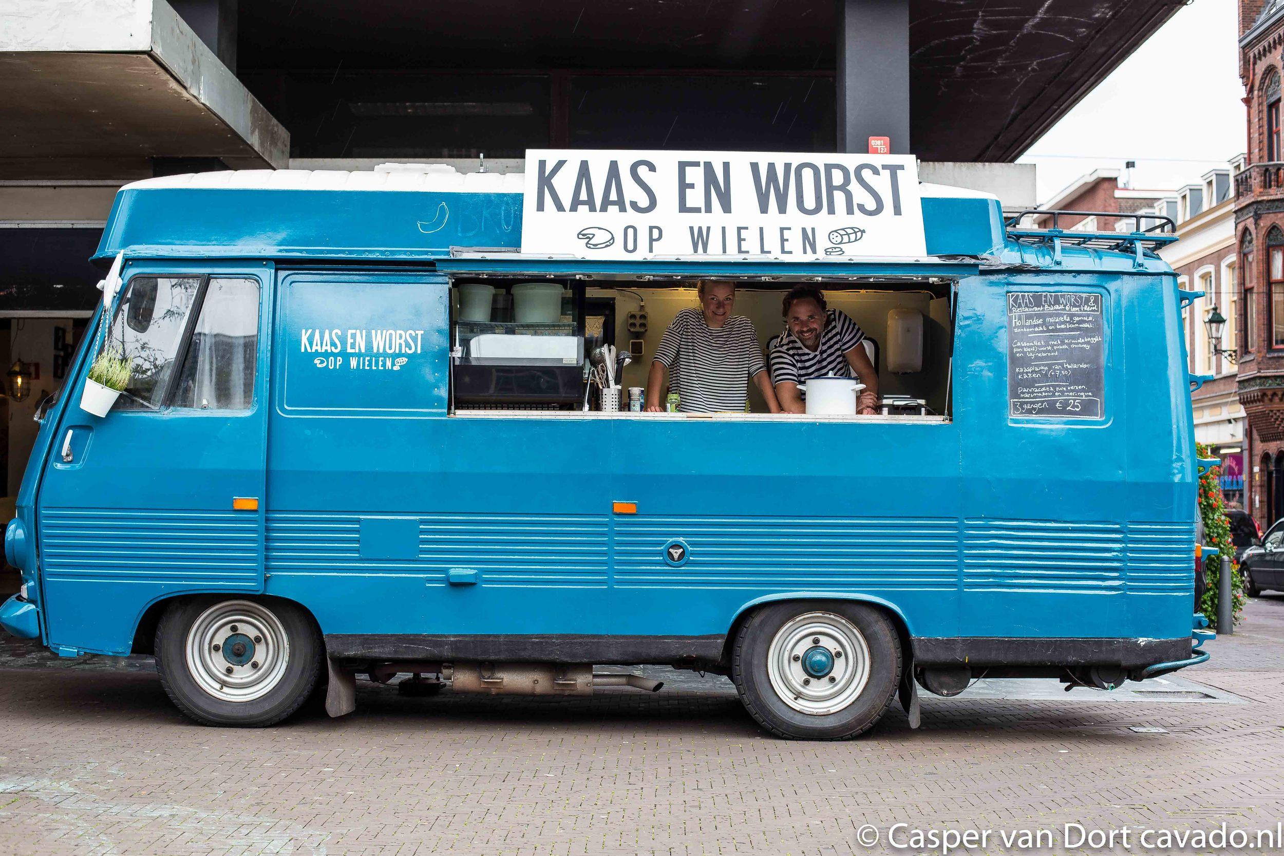 Foodtruck Kaas & Worst op wielen