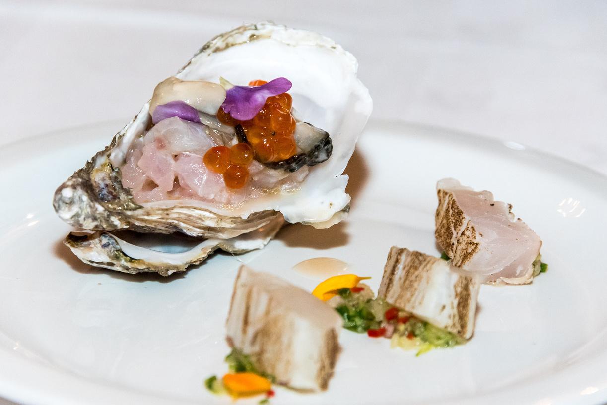Roast fillet and tartar of Herm sea bass.jpg