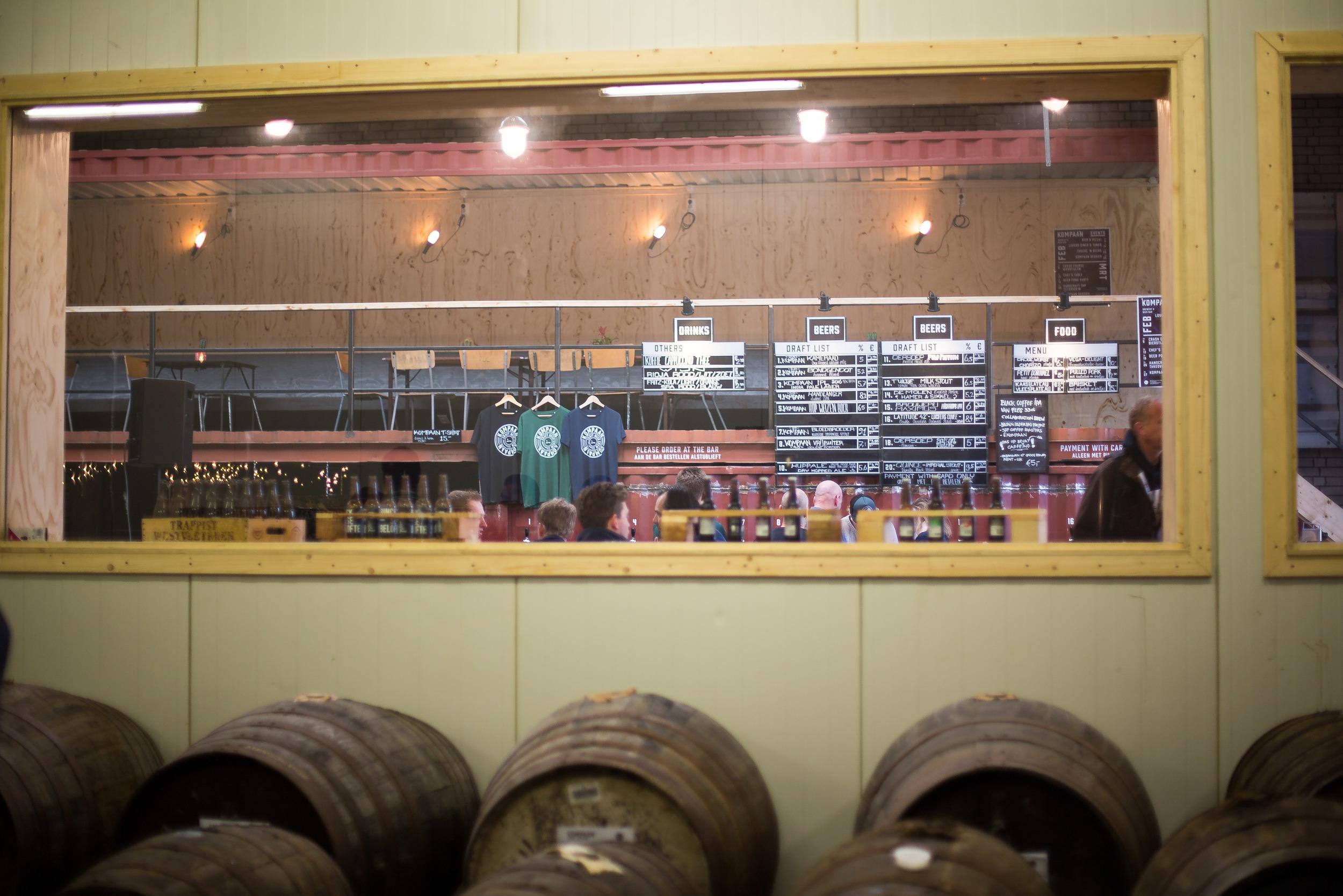 Uitzicht op de Beer Bar
