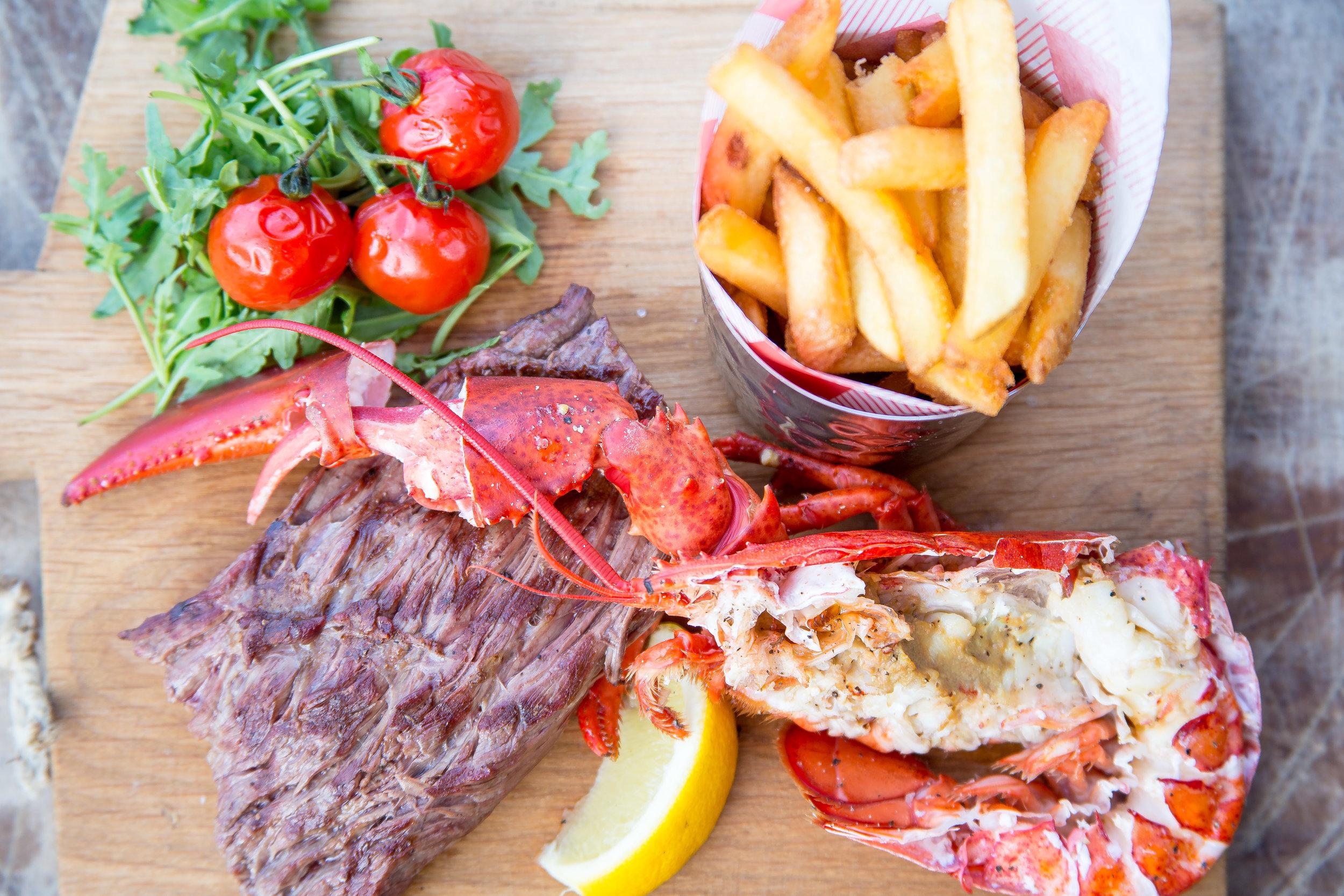 Steak & Lobster S*team Scheveningen
