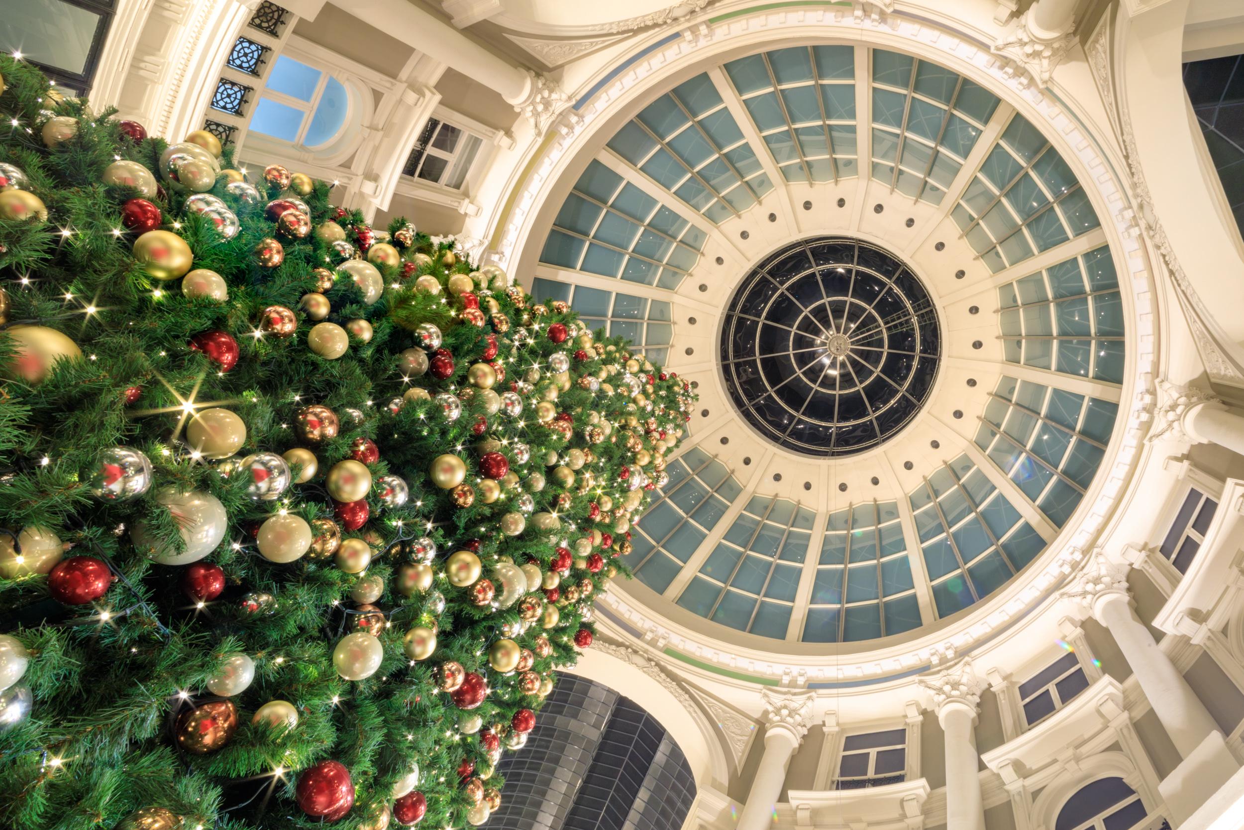 Kerstboom Passage Den Haag