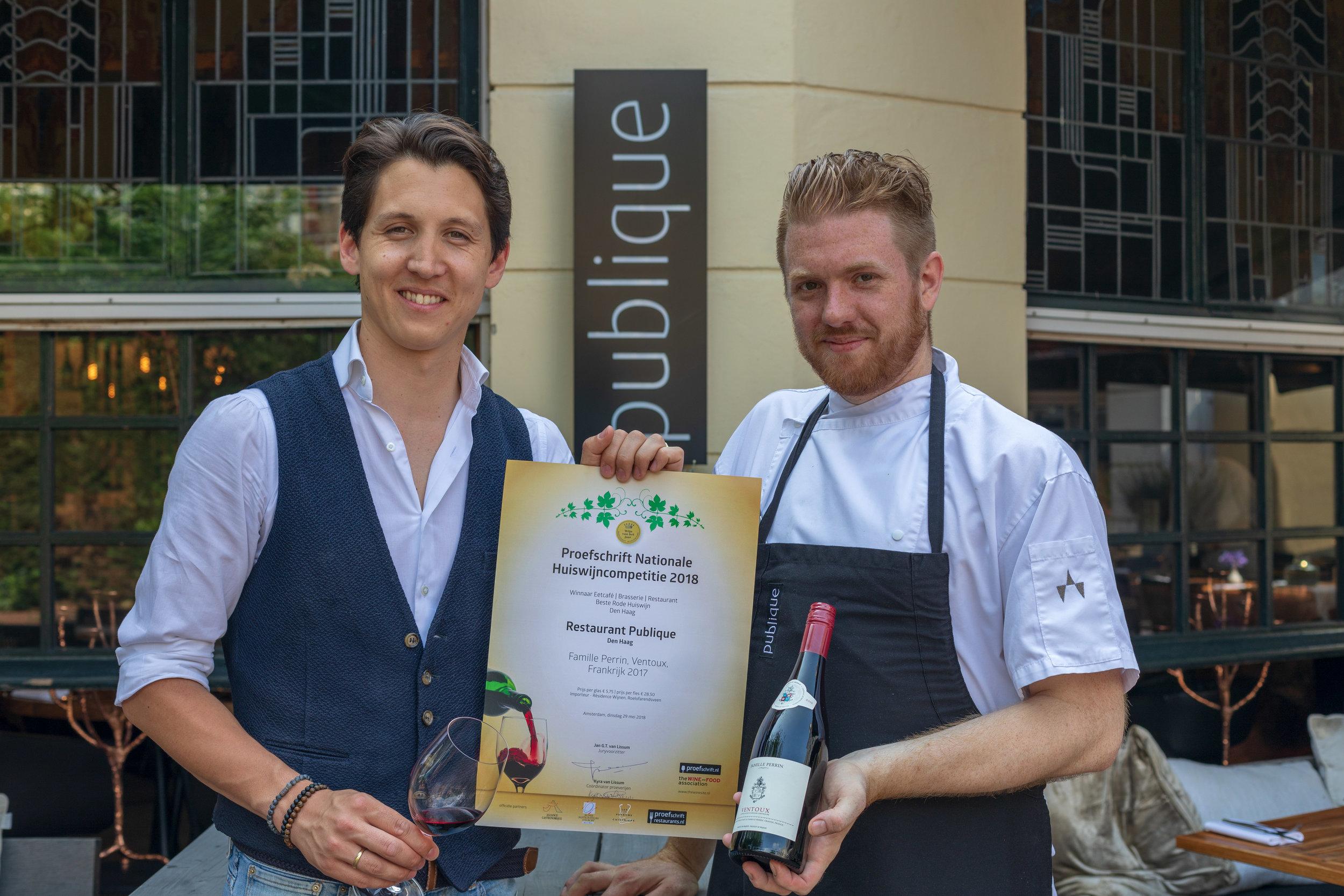 Maurits Jonkman & Mark van Bemmel Restaurant Publique