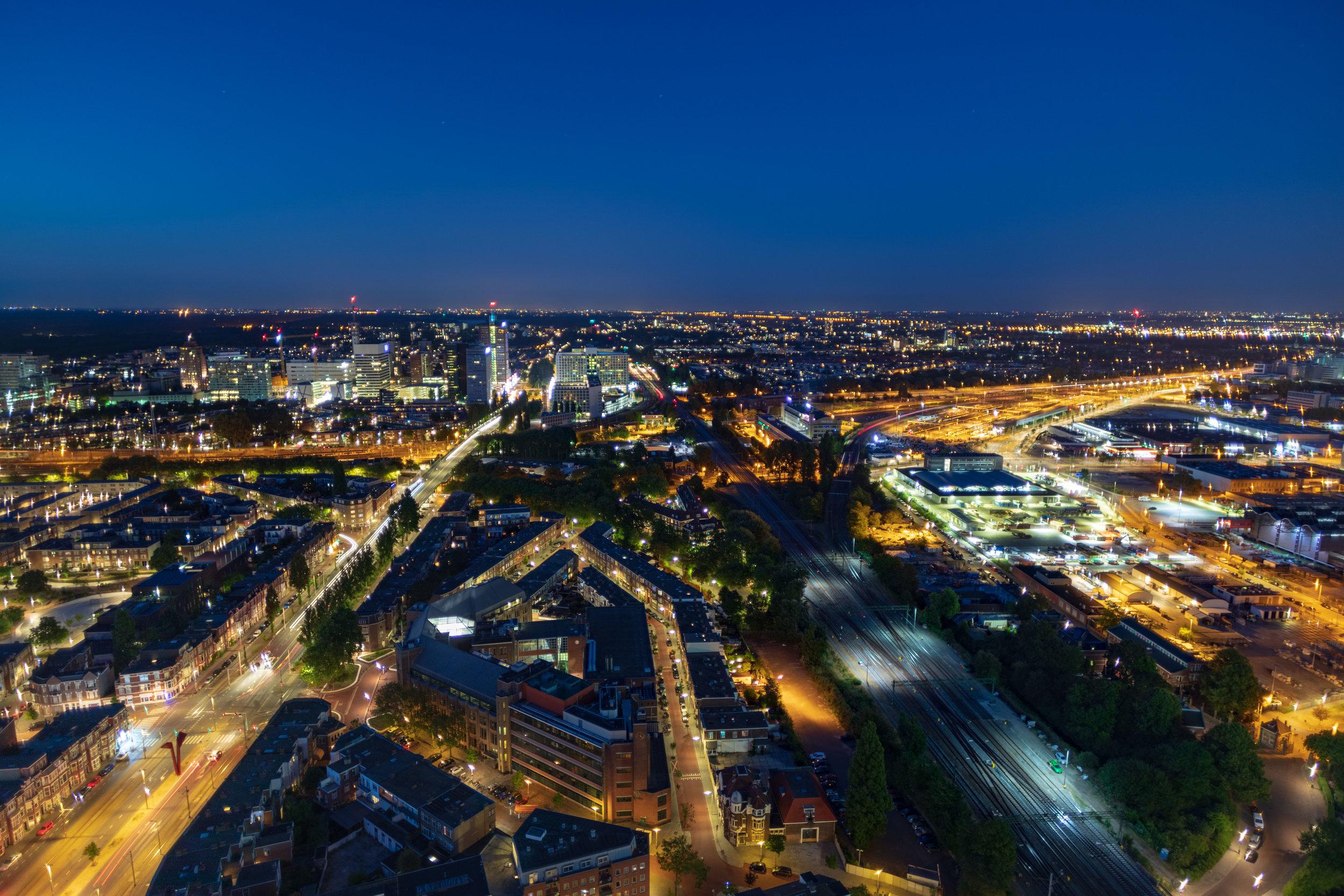 Den Haag Sky view | The Hague Sky view
