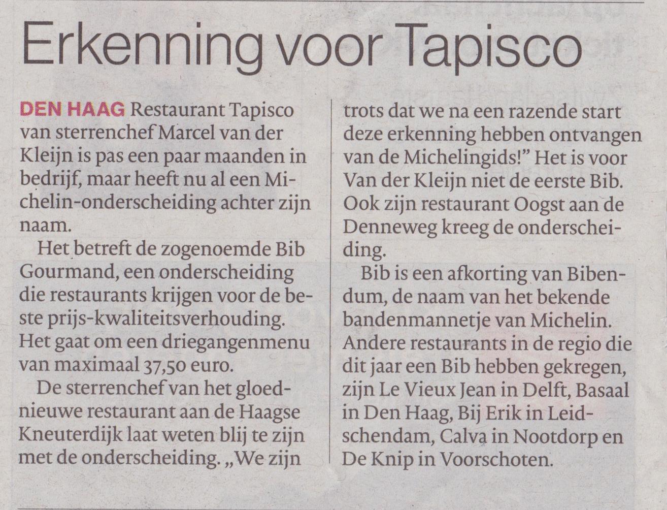 Uit Het AD Haagsche Courant