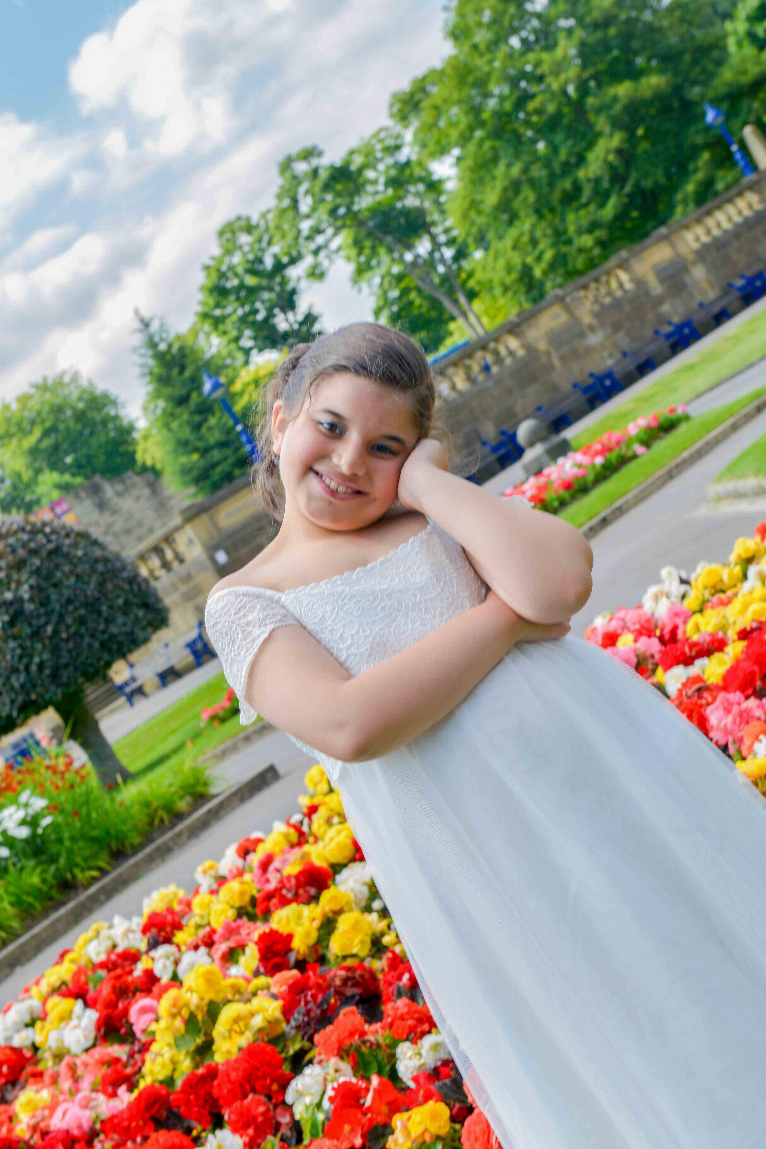Ashley 2016, Shy B Photography location shoot, Lister Park, Bradford, West Yorkshire