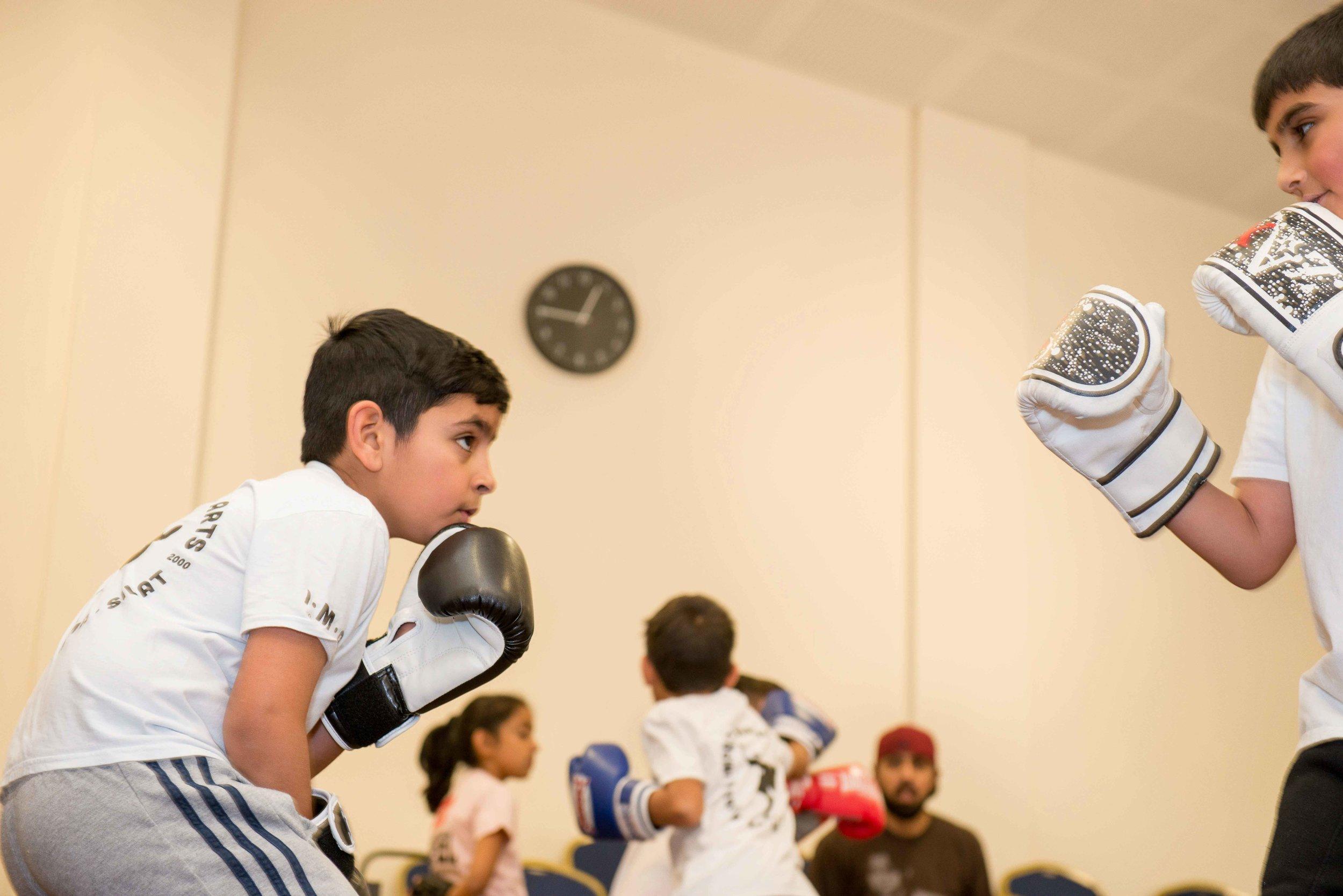 Kickboxing Classes - 19th November 2017, Park Lane Centre, Bradford