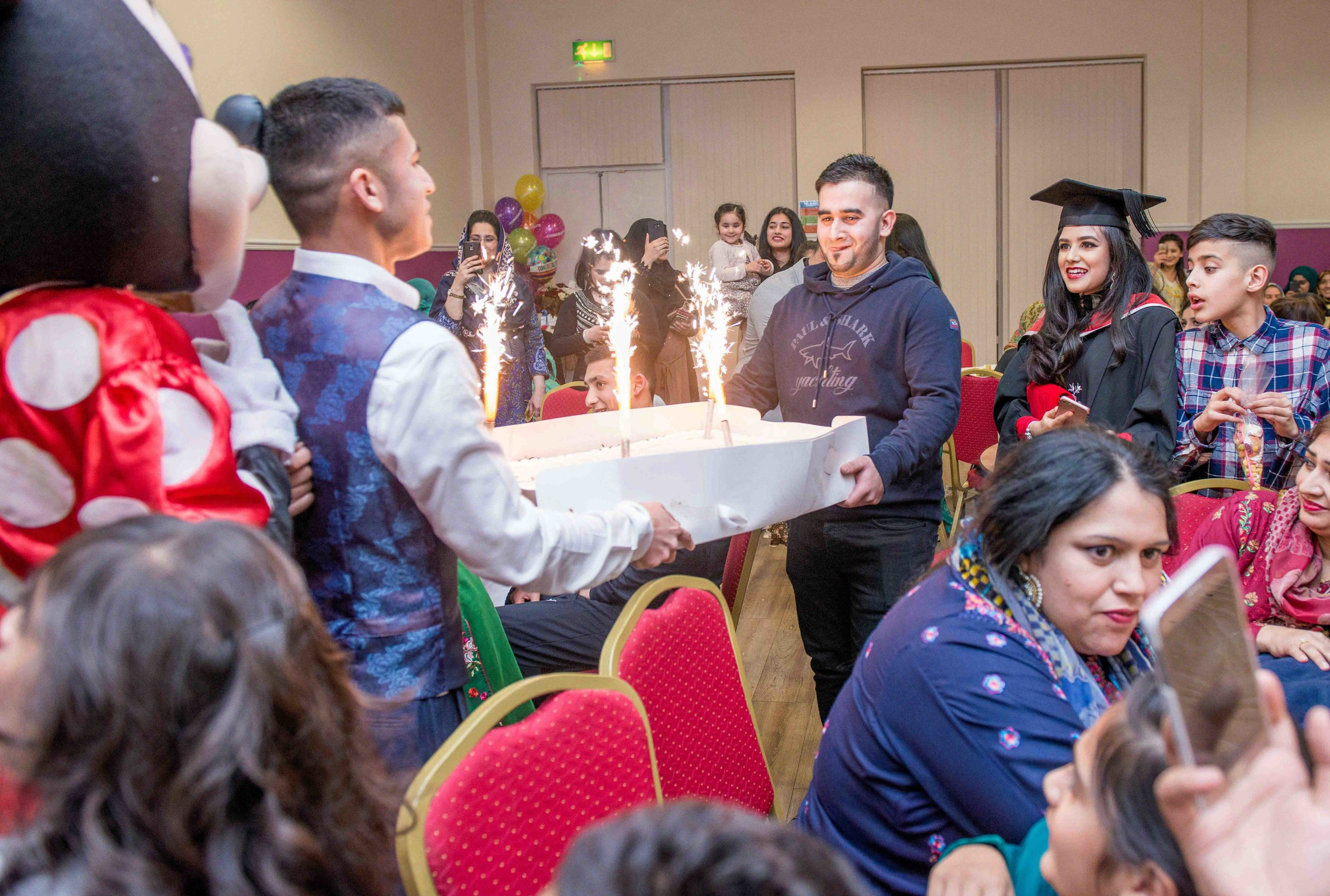 Graduation Party - 22nd November 2017, Mayfield Centre, Bradford